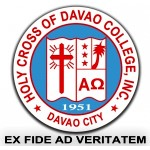 Holy Cross of Davao College logo