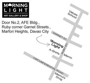 Morning Light Art Gallery & Shop Davao map