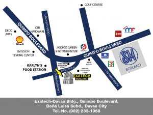 Whirlpool DAVAO Showroom Map
