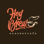 hey brew sneaker cafe