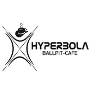 hyperbola ball pit cafe logo