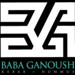 Baba Ganoush Kebab + Hummus